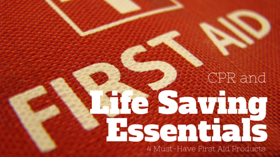 4 Must-Have First Aid Products
