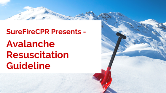 Avalanche Resuscitation Guideline